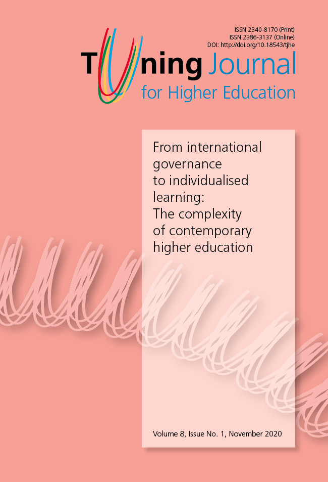 Tuning Journal for Higher Education Volume 8, Issue No. 1, November 2020